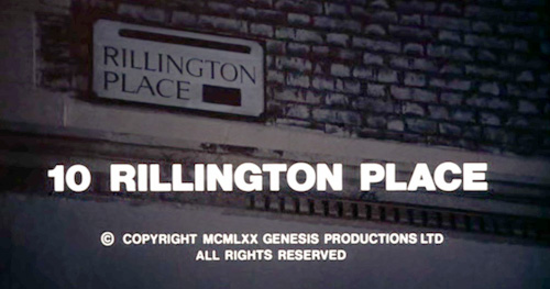 10 Rillington Place title screen