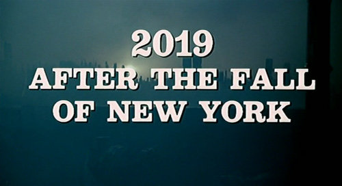 2019 - Dopo La Caduta Di New York title screen