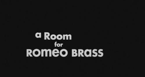 A Room For Romeo Brass title screen