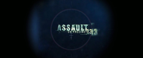 Assault On Precinct 13 (2005) title screen