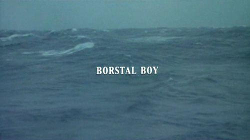 Borstal Boy title screen