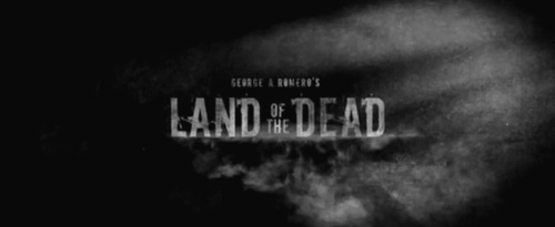 Land Of The Dead title screen