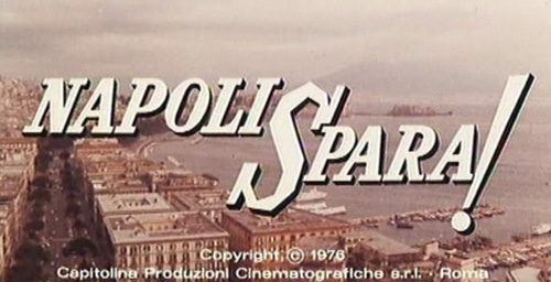 Napoli Spara title screen