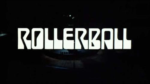 Rollerball title screen