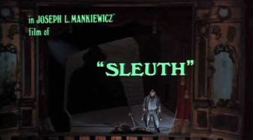 Sleuth title screen