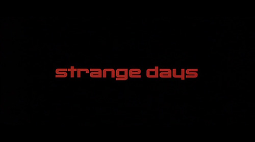 Strange Days title screen