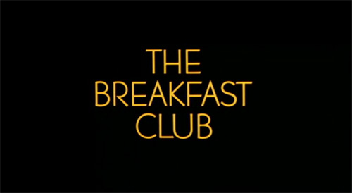 The Breakfast Club title screen