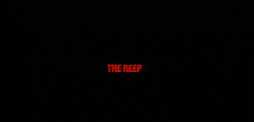 The Keep title screen