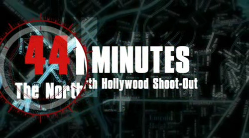 44 Minutes: The North Hollywood Shoot-Out title screen