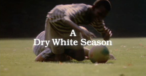 A Dry White Season title screen