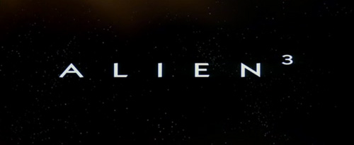 Alien 3 title screen