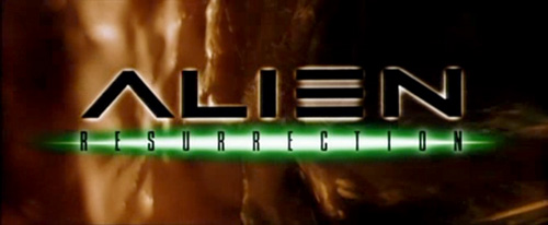 Alien Resurrection title screen