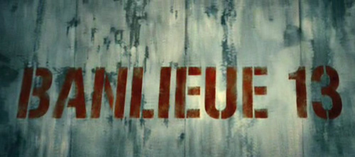 Banlieue13 title screen