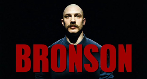 Bronson title screen