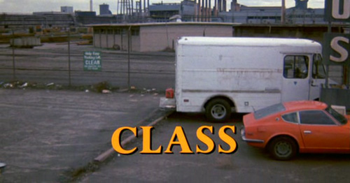 Class title screen