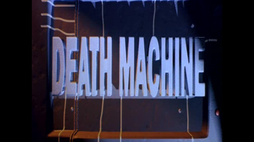 Death Machine title screen