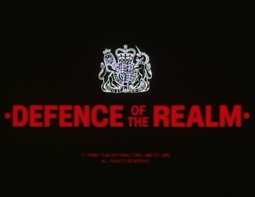 Defence Of The Realm title screen