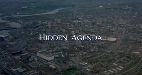 Hidden Agenda title screen