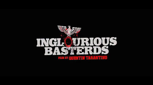 Inglourious Basterds title screen