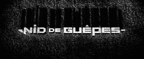 Nid De Guêpes title screen