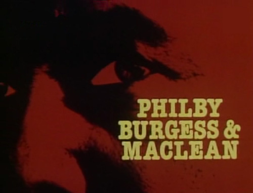 Philby Burgess & Maclean