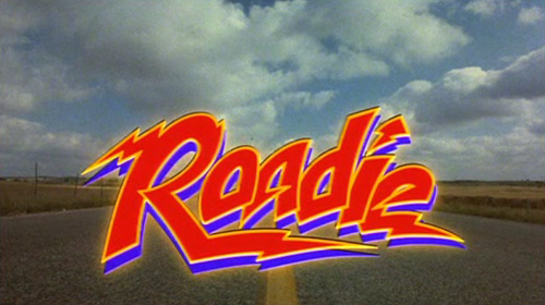 Roadie title screen