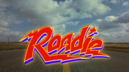 Roadie title screen