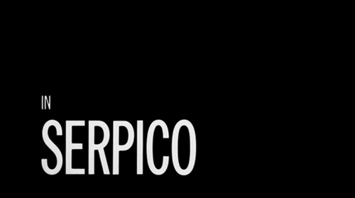 Serpico title screen