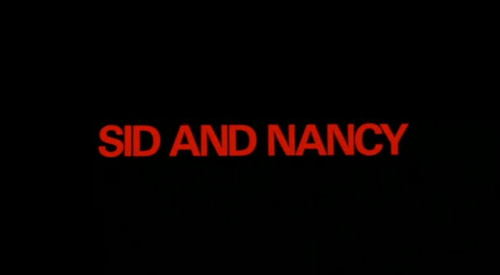 Sid And Nancy title screen