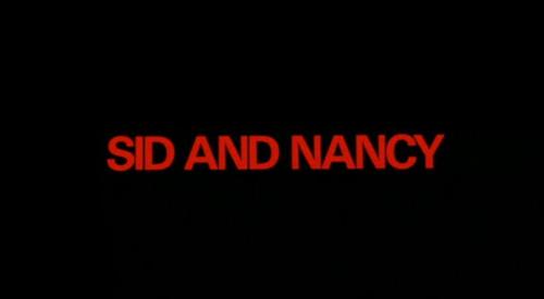 Sid And Nancy title screen