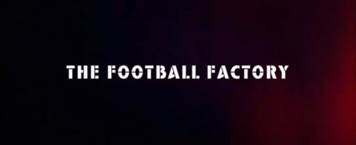 The Football Factory title screen