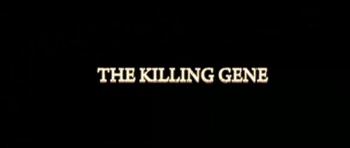 The Killing Gene/w∆z title screen
