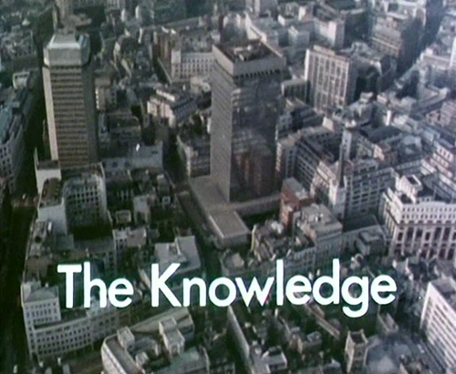 The Knowledge title screen
