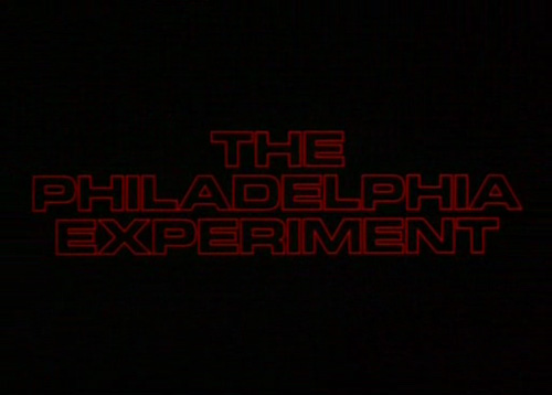 The Philadelphia Experiment title screen