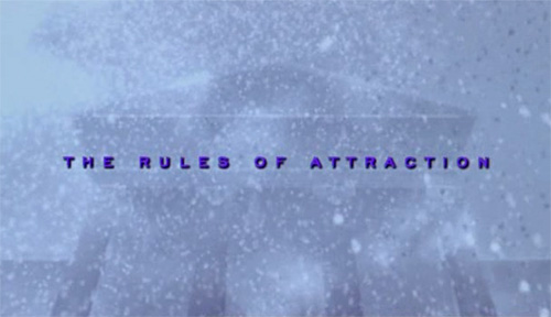 The Rules Of Attraction title screen