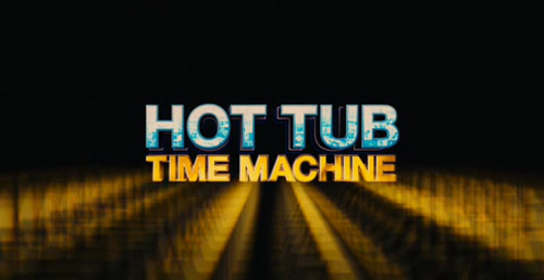 Hot Tub Time Machine title screen