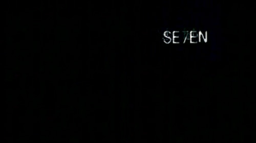 Se7en title screen