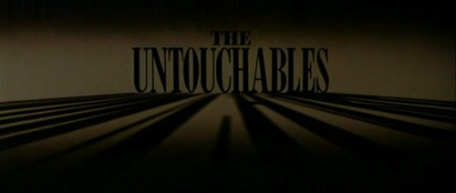 The Untouchables title screen