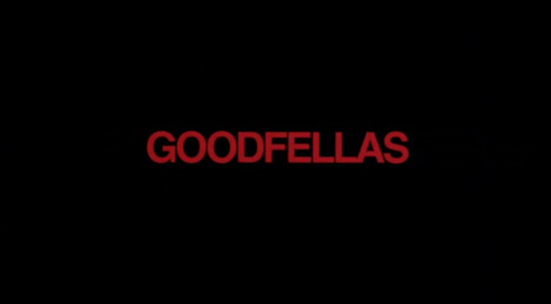 Goodfellas title screen