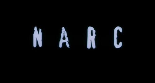Narc title screen