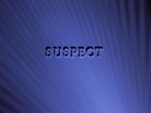 Suspect title screen