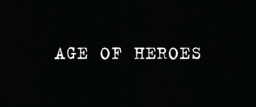 Age Of Heroes title screen