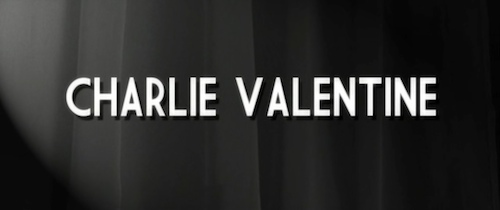 Charlie Valentine title screen