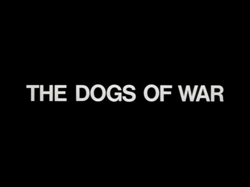 Dogs Of War title screen