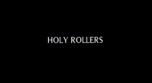 Holy Rollers title screen