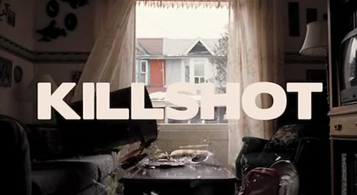 Killshot title screen