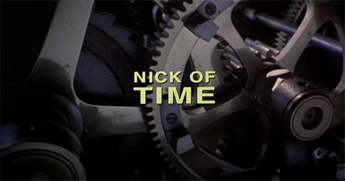 Nick Of Time title screen