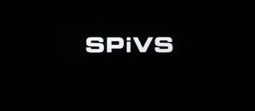 Spivs title screen