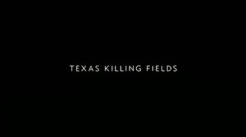 Texas Killing Fields title screen