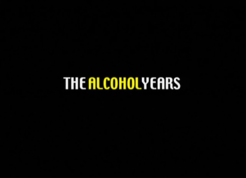 The Alcohol Years title screen